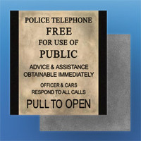 Police Box Sign Textures