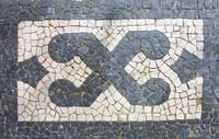 Mosaic Tile Sidewalk 07