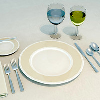 Tableware Place Setting