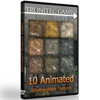 Animated Shallow Water Texture Collection