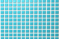Blue Glass Bath Tile
