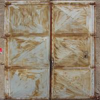 Big Metal Door Texture  2