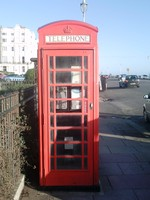 British Old Phonebox