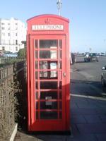 British Old Phonebox