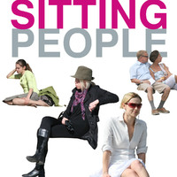 Sitting people collection