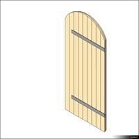 Door Leaf Arc Leged 00259se