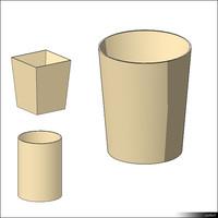 Waste Paper Basket 00471se