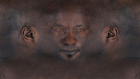 Black Man Facial Texture