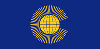 Commonwealth texture Flag