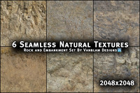 6 Seamless Natural Textures