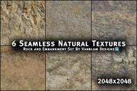 6 Seamless Natural Textures