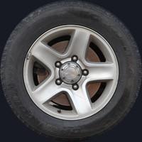 Grand Vitara wheel texture