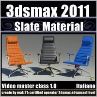 3dsmax 2011 Slate Material Editor v.1.0 Italiano cd front