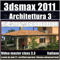 3dsmax 2011 Architettura v.3.3 Italiano Subscription
