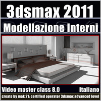 3dsmax 2011 Modellazione di Interni v.8.0 Italiano Subscription