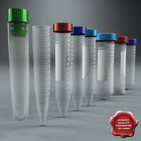Plastic Vials Collection