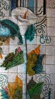 Sculptured Mosaic Calla Lily Decoration