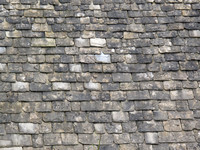 Stonesfield stone roof