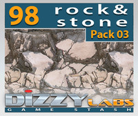 DLROCK Rock & Stones Pack 03
