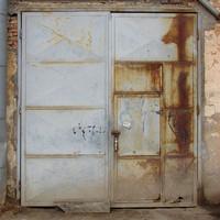 Big Metal Door Texture