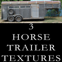 3 Horse Trailer Textures