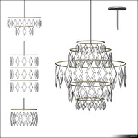 Lamp Ceiling Suspended Luster 00316se
