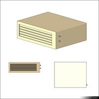 Air Conditioner Split Indoor Unit 00336se