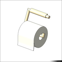 Toilet Roll Holder 00574se