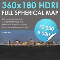 HDRI Map Paris [P044]