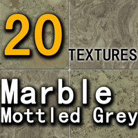 05 Marble Mottled Grey