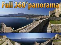 Calvi Harbour - 360° panorama