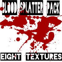 Blood Splatter Texture Pack