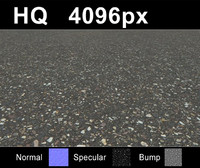 Asphalt tile 1 - Hi Res Set