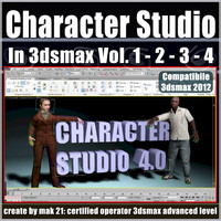 Character studio in 3dsmax Star Force
