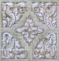 Decorated Tile 34