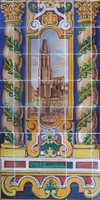 Decorated Tile 25