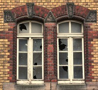 Derelict windows
