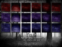 Falln Maeglin Wall Textures Red Purple Blue