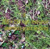 9 grass textures