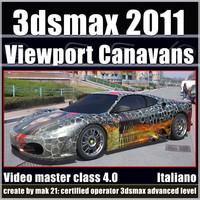 3dsmax 2011 Viewport Canavans v.4.0 Italiano cd front