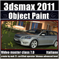 3dsmax 2011 Object Paint v.7.0 Italiano cd front
