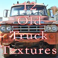 12 Old  Truck Textures