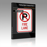 Parking Signs Texture Pack 1
