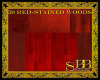50 Red-Stained Woods