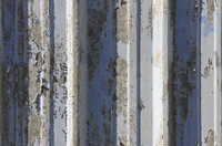 Rusted sheet iron texture 02