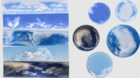 5 Panoramic Skies