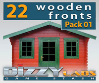 DLWOOD ArchitecturalParts Front Pack 01