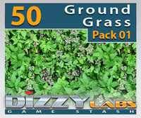 DLGND Ground Grass Pack 01