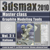 Video Master Class 3dsmax 2010 Volume 2.1_cd front