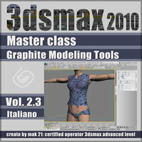 Video Master Class 3dsmax 2010 Volume 2.3 italiano cd front